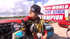 Leah Pritchett wins the SAM Tech NHRA Factory Stock Showdown at the 2018 AAA Texas NHRA FallNationals