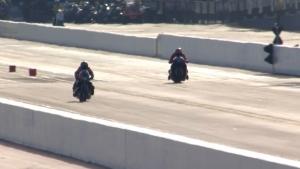 Eddie Krawiec grabs Pro Stock Motorcycle pole at the NHRA Carolina Nationals