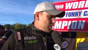Sean Bellemeur clinches Top Alcohol Funny Car  championship
