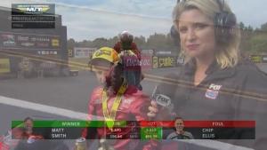 Matt Smith scores again in Pro Stock Motorcycle at NHRA Carolina Nationals