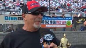 2018 NHRA Carolina Nationals Top Sportsman winner Ronnie Proctor