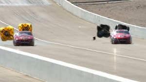 Greg Anderson goes No. 1  on Friday at NHRA Toyota Nationals in Las Vegas