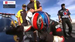 Steve Torrence wins the 2018 Mello Yello NHRA Top Fuel world championship