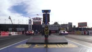 2018 NHRA Toyota Nationals Super Gas winner Matt Blodgett