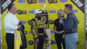 J.R. Todd wins 2018 Funny Car championship