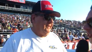 2018 Auto Club NHRA Finals Stock winner Jeff Taylor