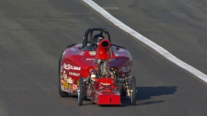 2018 Auto Club NHRA Finals Comp winner David Rampy